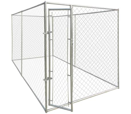 vidaXL Outdoor Dog Kennel 13'x6.6'x6.6'