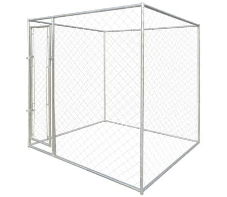 vidaXL Outdoor Dog Kennel 6'x6'[2/4]