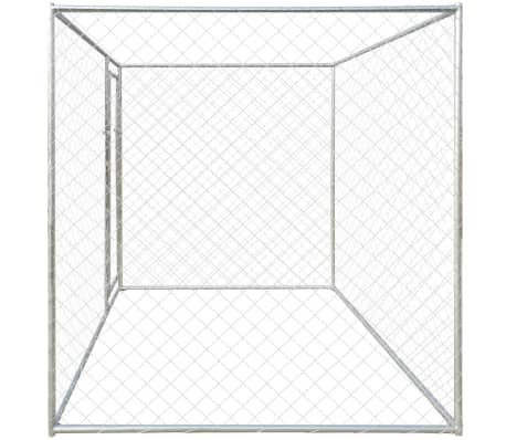 vidaXL Outdoor Dog Kennel 6'x6'[3/4]