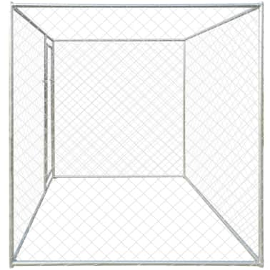 vidaXL Outdoor Dog Kennel 6