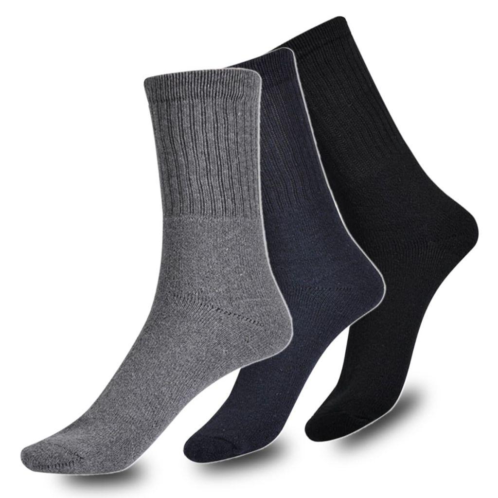 Pánské sportovní ponožky, mix barev, 24 párů, vel. 43-46