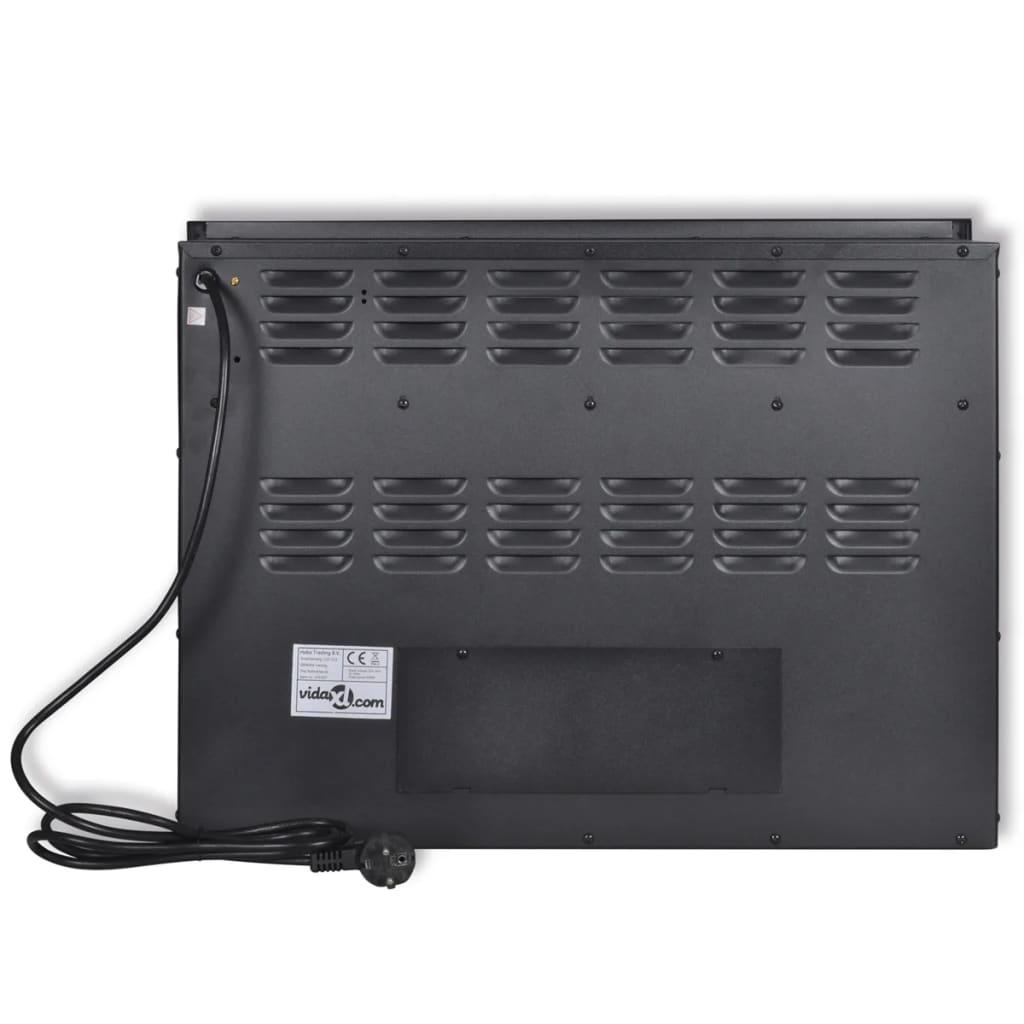 99141437 Elektrischer Einbaukamin 2000 W mit Fernbedienung