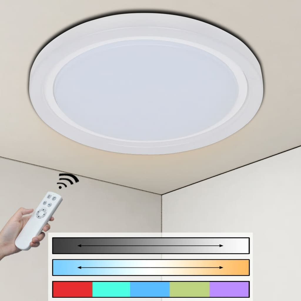 Plafonieră RGB LED 32 W poza vidaxl.ro