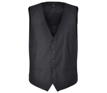 acheter costume trois pi ces homme 46 noir pas cher. Black Bedroom Furniture Sets. Home Design Ideas