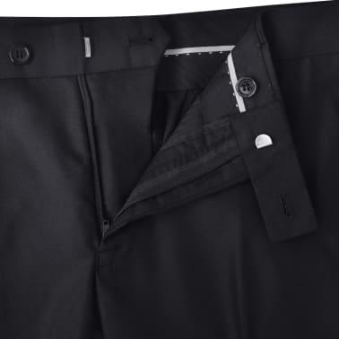 Business Anzug für Herren 3-teilig Schwarz Gr. 54[6/10]