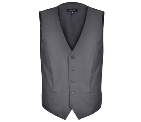 Tredelad Business Kostym Herrar strl. 46 Antracitgrå[4/10]