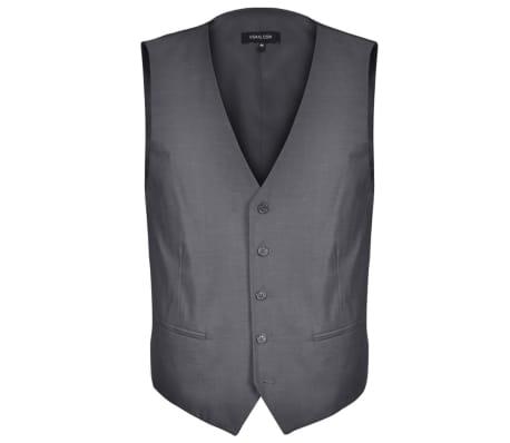 acheter costume trois pi ces homme 50 gris anthracite pas cher. Black Bedroom Furniture Sets. Home Design Ideas