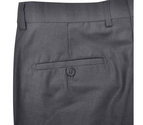Business Anzug für Herren 3-teilig Grau Gr. 54[6/10]