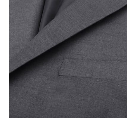 Business Anzug für Herren 3-teilig Grau Gr. 54[8/10]
