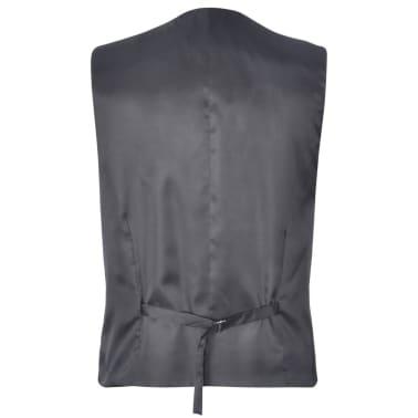 Business Anzug für Herren 3-teilig Grau Gr. 54[5/10]
