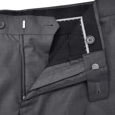 Business Anzug für Herren 3-teilig Grau Gr. 54[7/10]