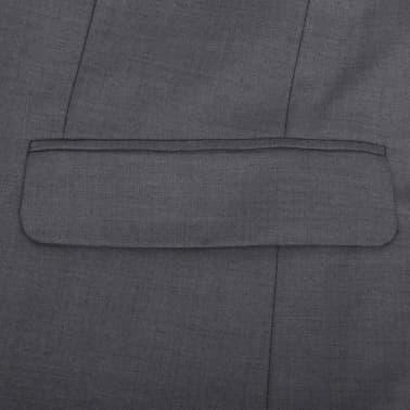Business Anzug für Herren 3-teilig Grau Gr. 54[9/10]