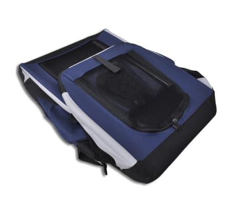 72c3c4d0d9 XL Skladacia a prenosná prepravka na domáce zviera s okienkami 2 7