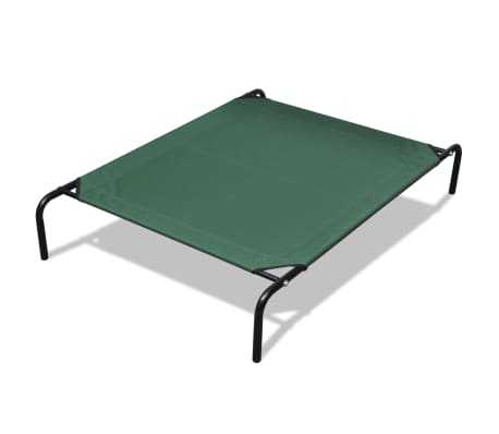 vidaXL Elevated Pet Bed with Steel Frame 90 x 60 cm-picture