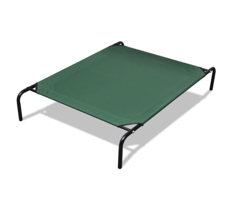 "Elevated Pet Bed with Steel Frame 4' 3"" x 2' 7""[1/4]"