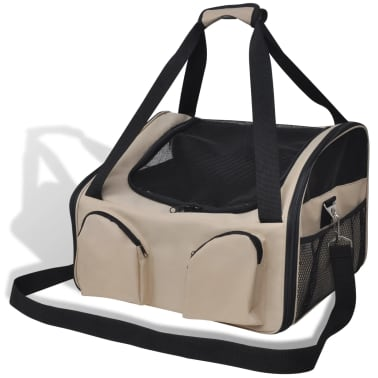 "Portable Pet Bag with Shoulder Strap 15.7"" x 13.8"" x 9.8""[1/4]"