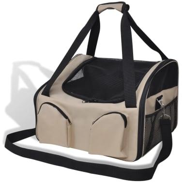 """Portable Pet Bag with Shoulder Strap 16.5"""" x 14.9"""" x 11.8""""[1/4]"""