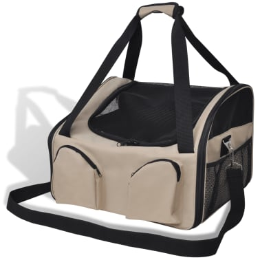 "Portable Pet Bag with Shoulder Strap 18.5"" x 15.7"" x 13.8""[1/4]"