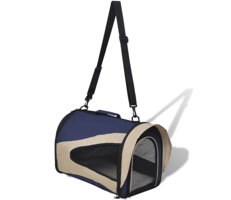 Portable Pet Bag with Handle and Shoulder Strap[2/4]