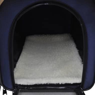 Portable Pet Bag With Handle And Shoulder Strap Vidaxl Com