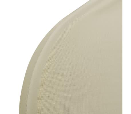 50 pcs Creme Stretch Chair Cover[6/6]