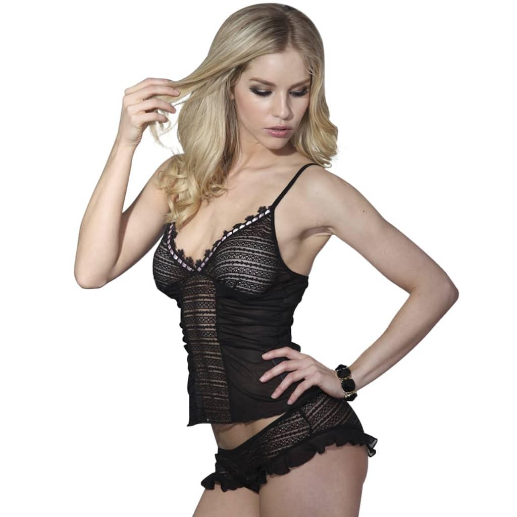 2 ks Sexy spodní prádlo set s horní čast a kalhotky Velikost L / XL
