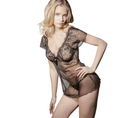 971ad1f5e041 Conjunto Lencería Sexy Mujer Vestido Liguero Tanga Vestido Picardía  Sleepwear