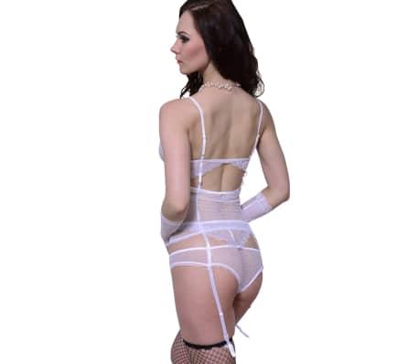 3stk Sexy Hvitt Undertøy Sett Størrelse L / XL[2/3]