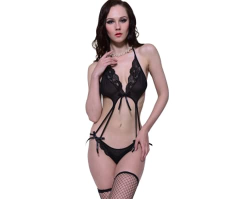 Sexy Backless Teddy Lingerie Size L / XL