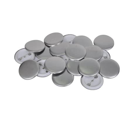 vidaXL Buttonmaschine 44 mm mit Kreisschneider und 500 Buttonrohlingen[8/8]