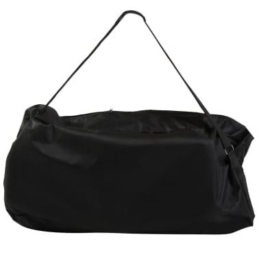 vidaXL Zložljiv in prenosen masažni stol moder[7/7]