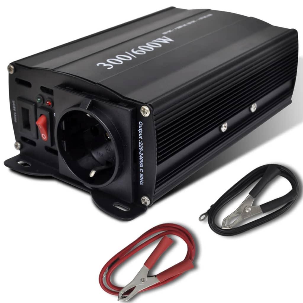 Convertor de tensiune 300-600 W cu USB poza 2021 vidaXL