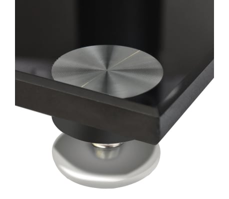 2 pcs Glass Speaker Stand (Each with 1 Black Pillar)[5/7]