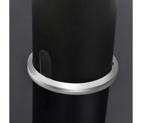 2 pcs Glass Speaker Stand (Each with 1 Black Pillar)[6/7]