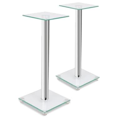 2 pcs Glass Speaker Stand[1/7]