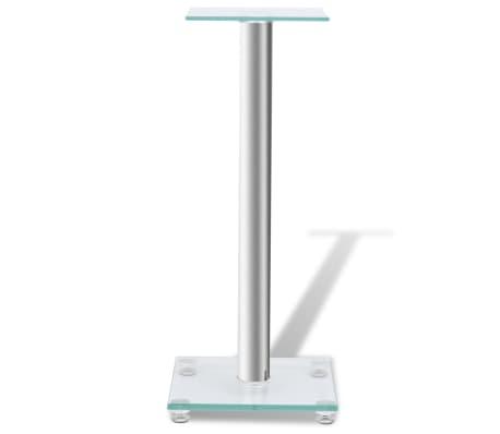2 pcs Glass Speaker Stand[3/7]