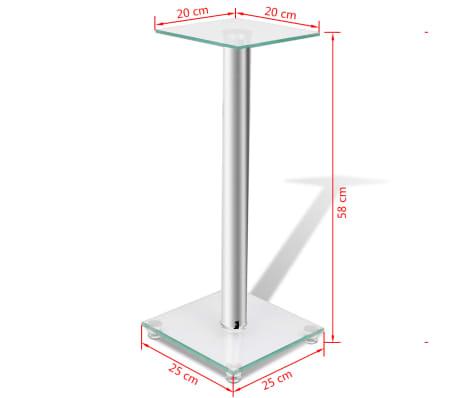2 pcs Glass Speaker Stand[7/7]