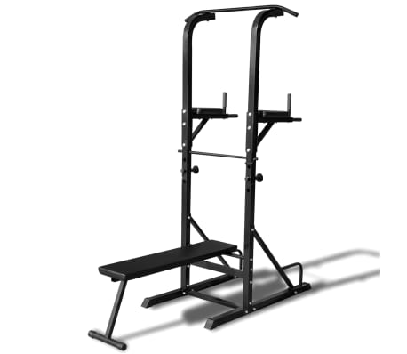Power Tower with Sit-up Bench[1/6]