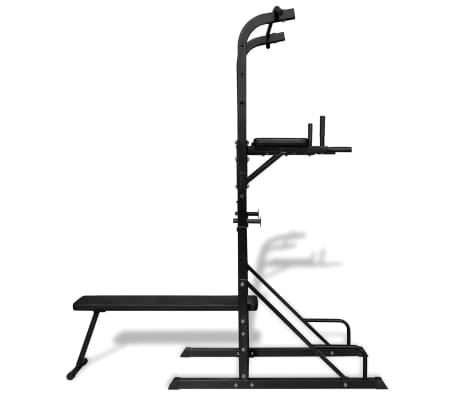 Power Tower with Sit-up Bench[3/6]