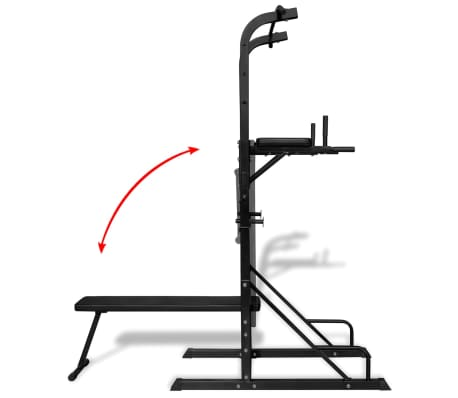 Power Tower with Sit-up Bench[4/6]