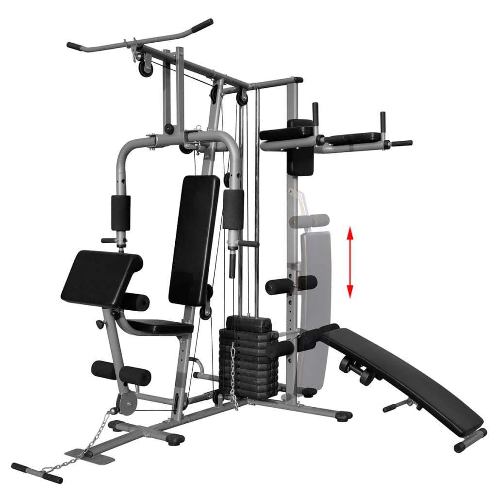 vidaXL Fitnessapparaat multifunctioneel 65 kg