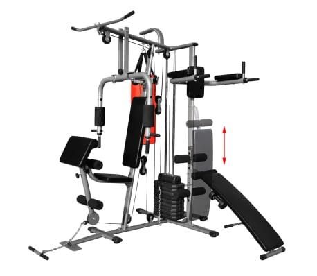 Fitness Kraftturm Multifunktionaler Heimtrainer mit Boxsack[2/8]