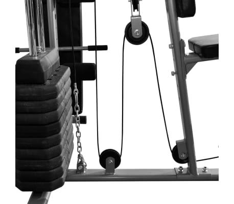 Fitness Kraftturm Multifunktionaler Heimtrainer mit Boxsack[7/8]