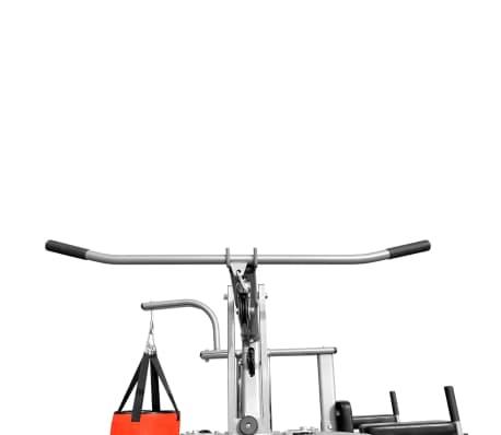 Fitness Kraftturm Multifunktionaler Heimtrainer mit Boxsack[8/8]
