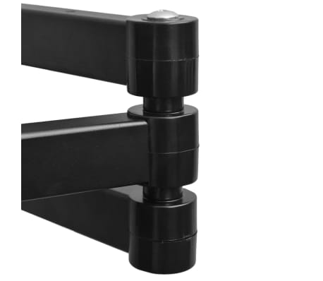 "vidaXL Support TV à double bras inclinable 200 x 200 mm 17"" - 37""[4/12]"