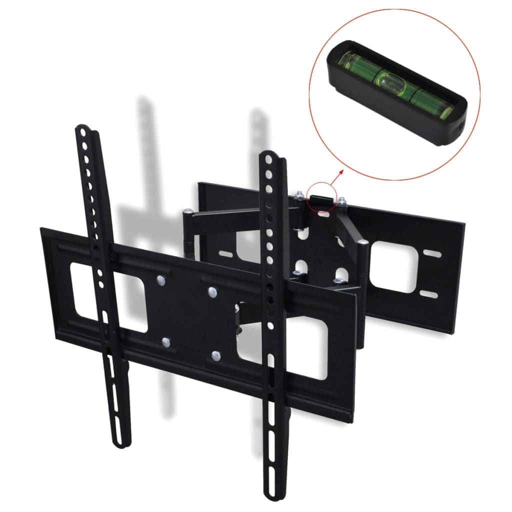 "vidaXL Double-armed Tilt Swivel Wall TV Bracket 3D 400x400mm 32""-55"""