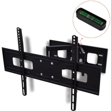 "vidaXL Support TV à double bras pivotant 3D 600 x 400 mm 37"" - 70""[2/10]"