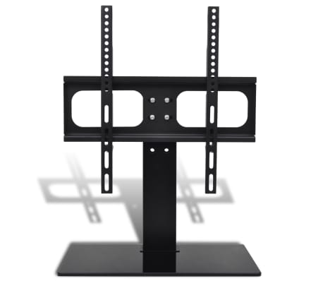 "vidaXL Support TV avec base 400 x 400 mm 23"" - 55"""