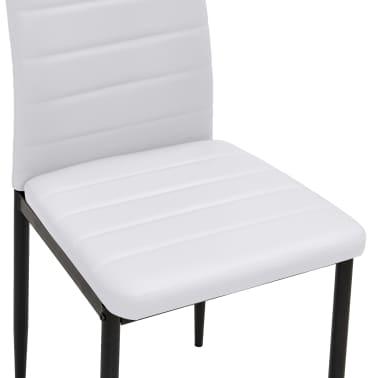 vidaxl esszimmerst hle 2 stk schlankes design wei g nstig kaufen. Black Bedroom Furniture Sets. Home Design Ideas