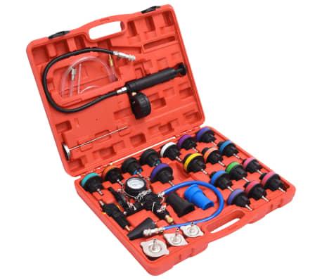 27 pcs Radiator Pressure Tester with Vacuum Purge and Refill Kit[1/5]